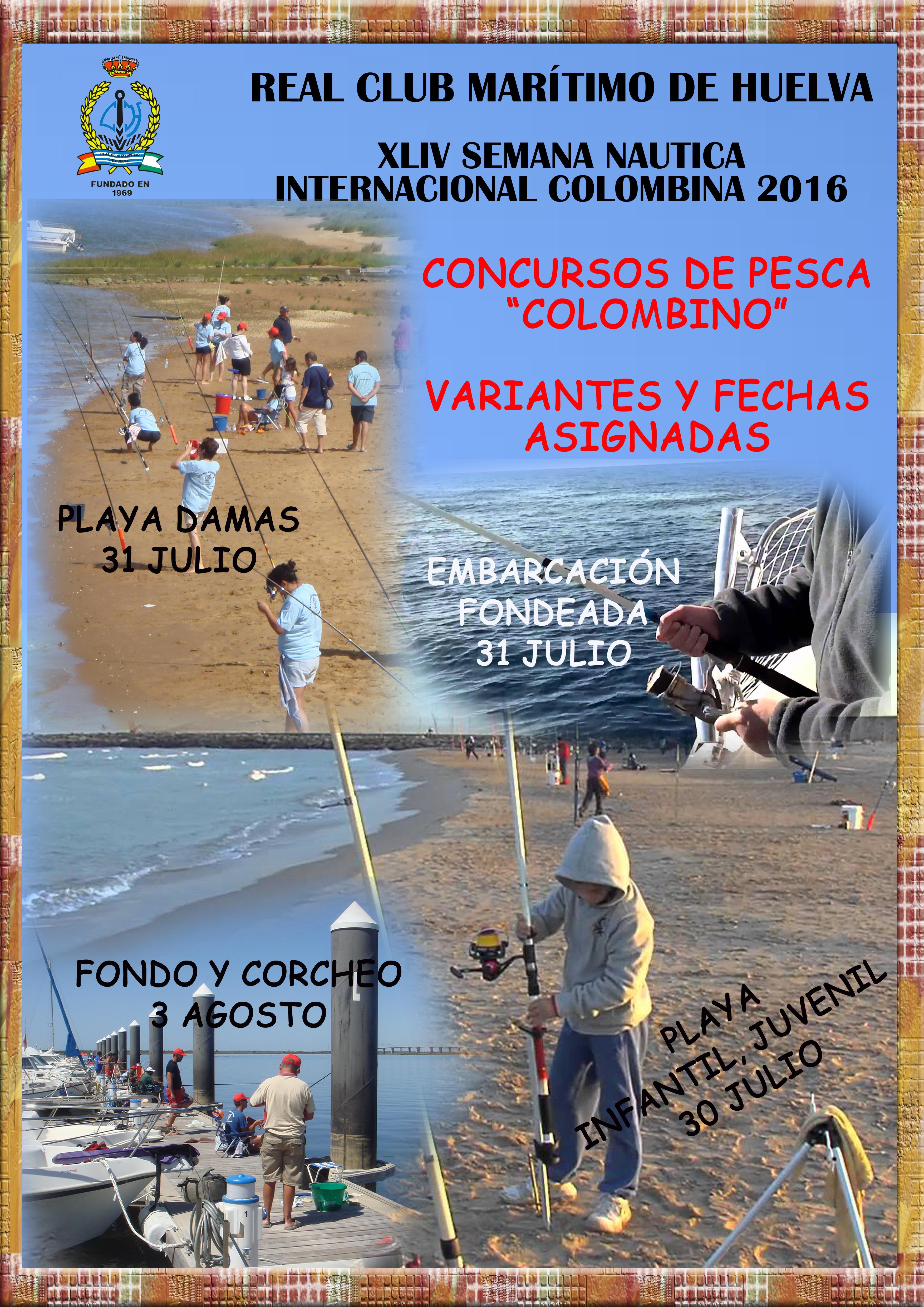 Concursos de pesca COLOMBINO XLIV SNIC 2016 A3