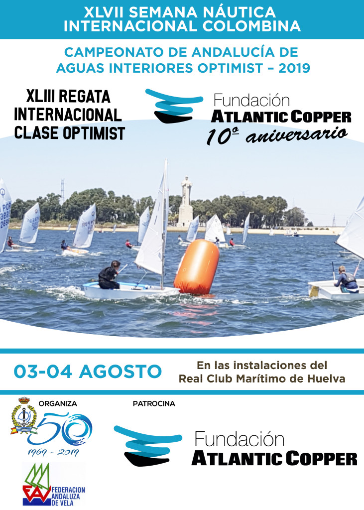 CARTEL REGATA OPTIMIST 19
