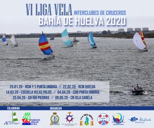 CARTEL LIGA CRUCEROS BAHIA HUELVA 2020