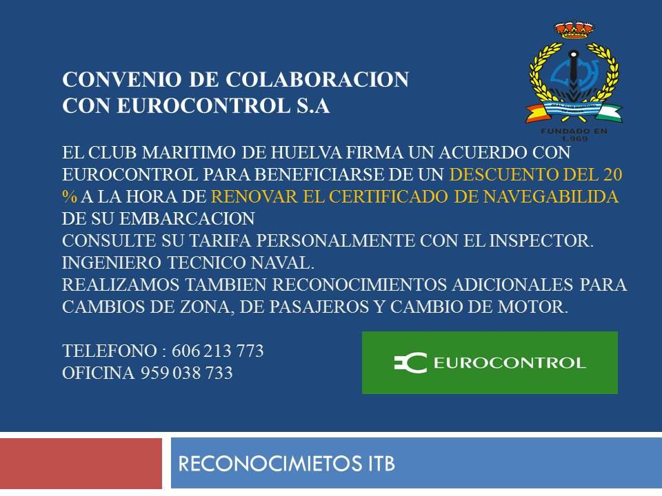CONVENIO DE COLABORACION itb eurocontrol