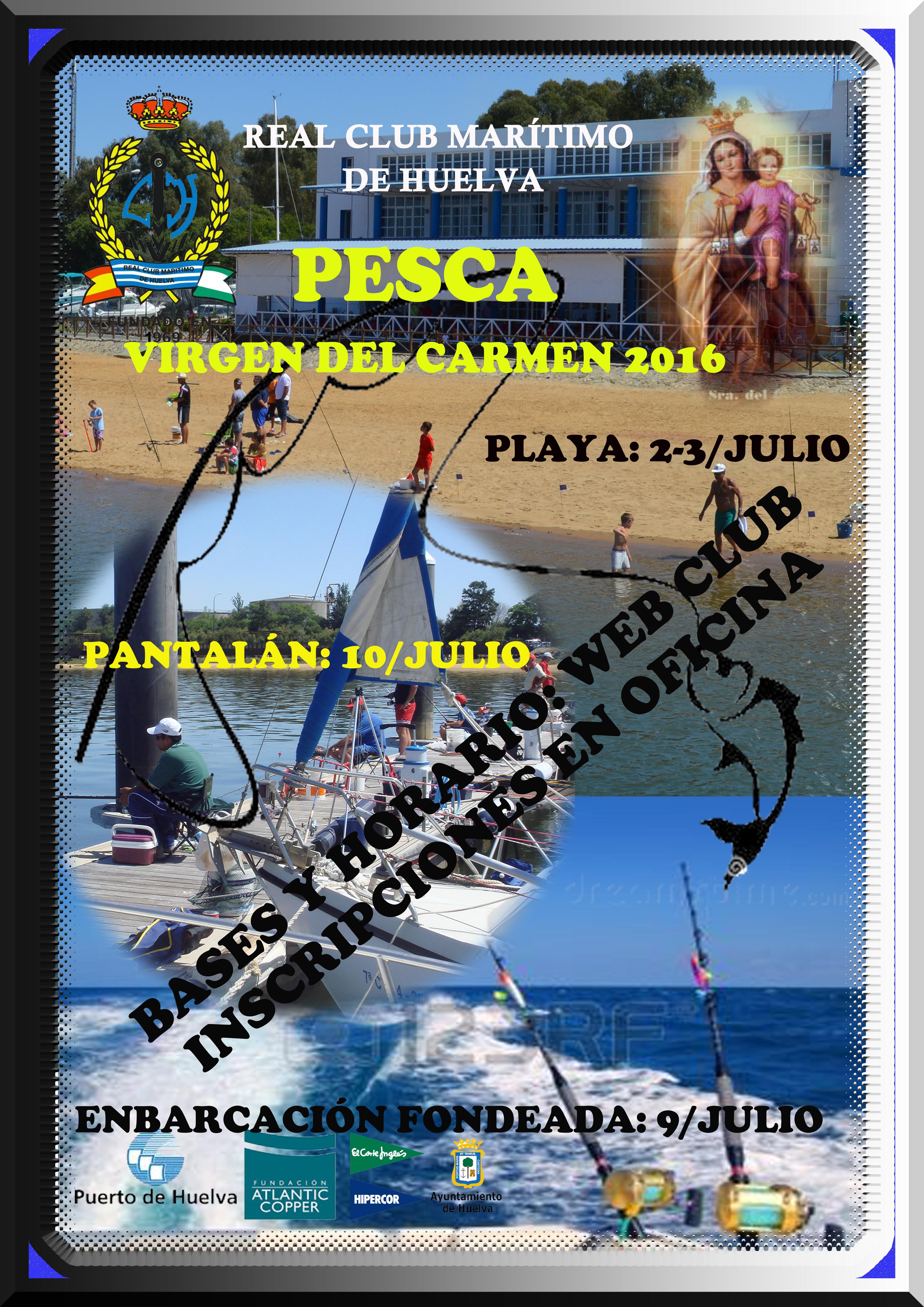Jornada pesca Virgen del Carmen 2016