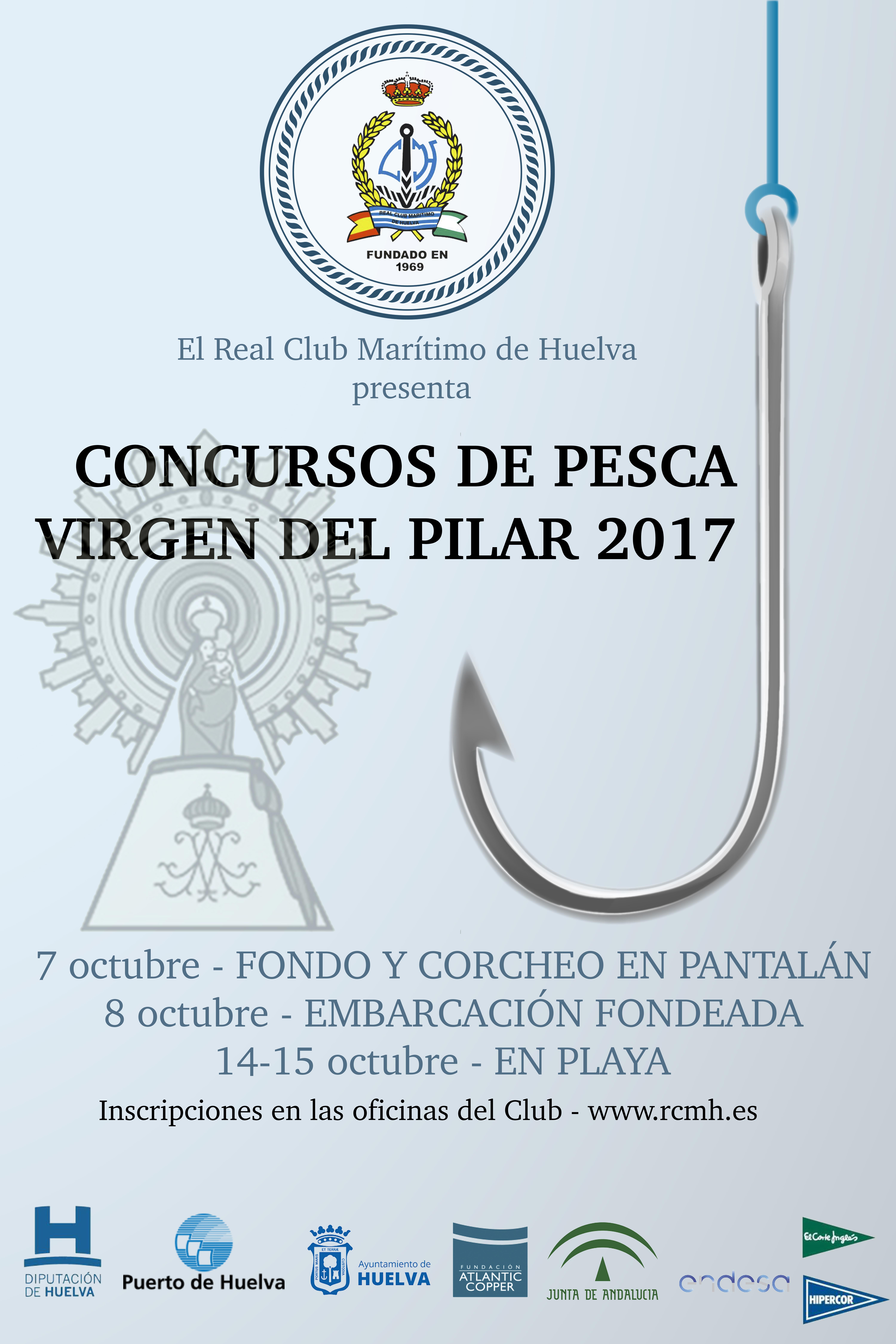 CARTEL CONCURSO PESCA PILAR 17