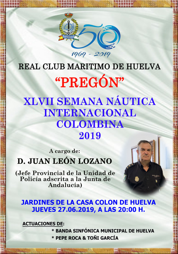 Cartel Pregón 2019